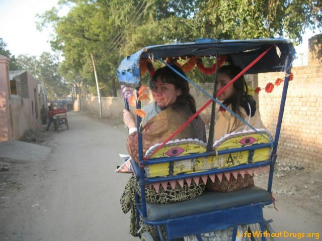 Индия фото - велорикша