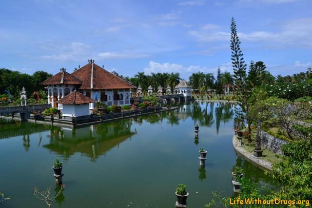 Водный дворец Бали