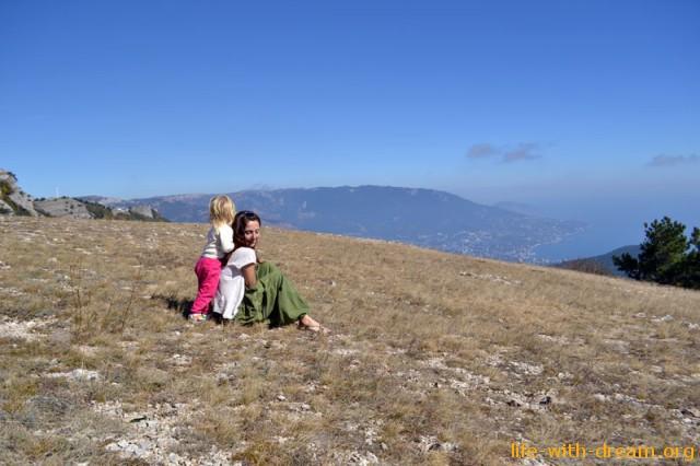 Холм на Ай-Петри