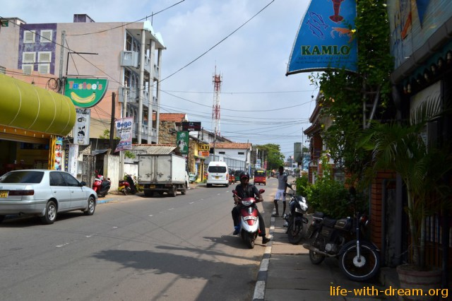 Негомбо - городок вблизи международного аэропорта Шри-Ланки
