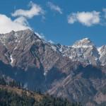 Манали и долина Кулу. Сосны. Гималаи. Сказка.