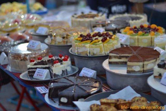 Остров Самуи - тортики, сладости