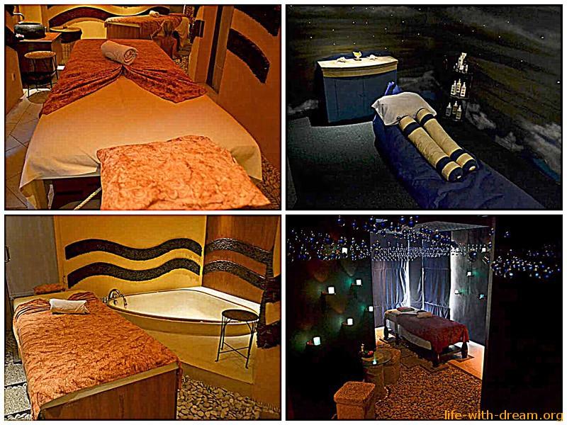 Спа-салон в отеле Grand Mirage Resort Thallaso Bali