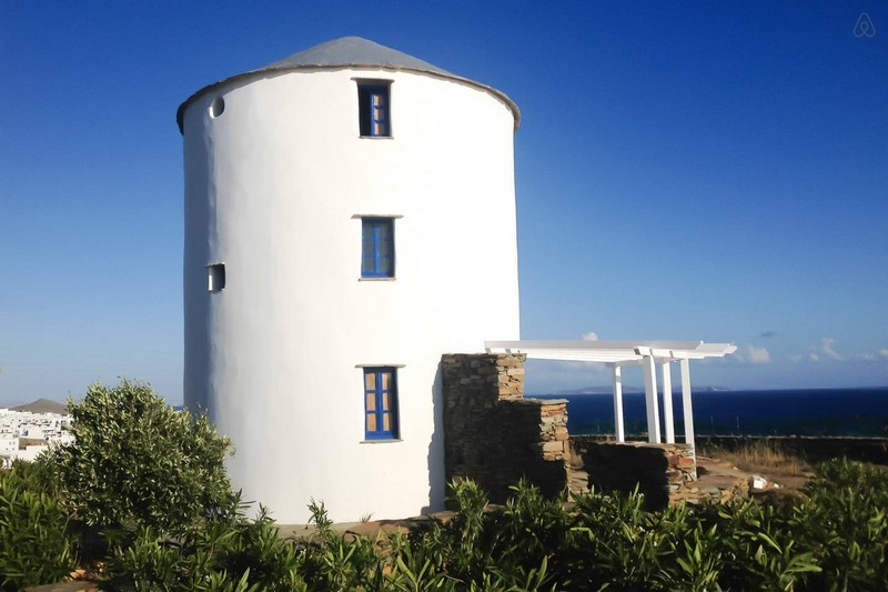 Airbnb аренда ветреной мельницы