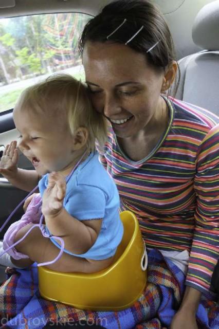 Автостоп по Азии с годовалым ребенком