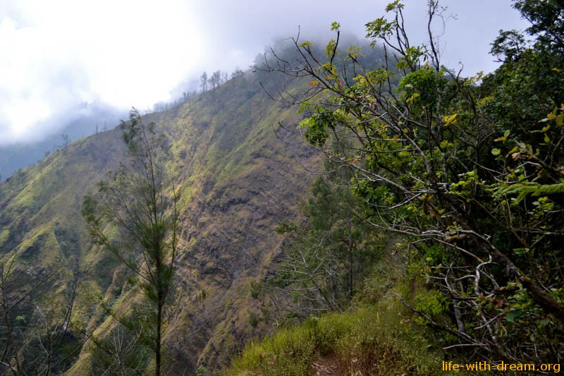 Восхождение на гору Абанг