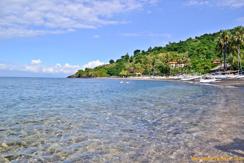 пляж в Амеде