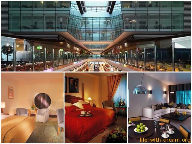 Отель в аэропорту Дубай