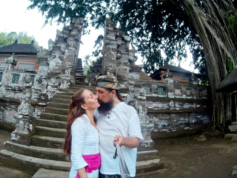 Мы в храме Кехен