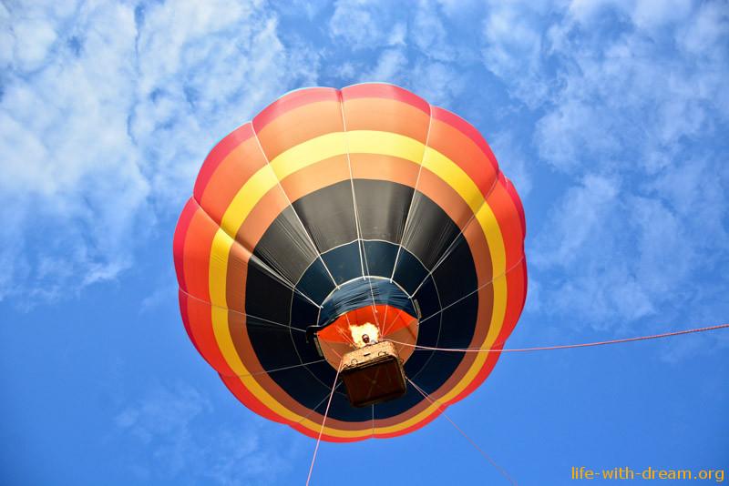 Воздушный шар на Пхукте