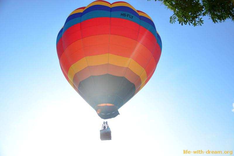 воздушный шар на Пхукете