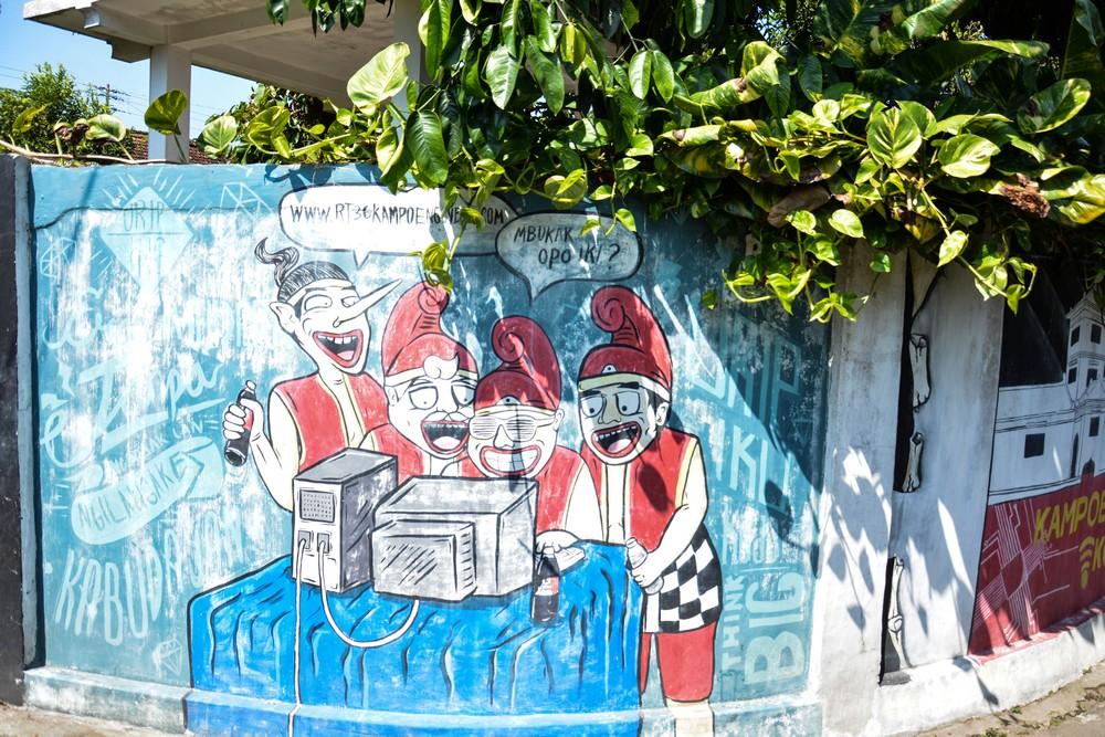 Джокьякарта  - культурная столица острова Ява. Путевые заметки.