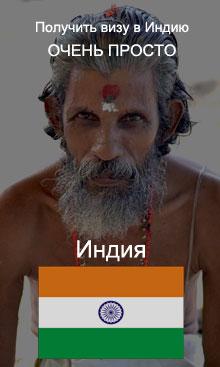 Виза в Индию за 2 дня!