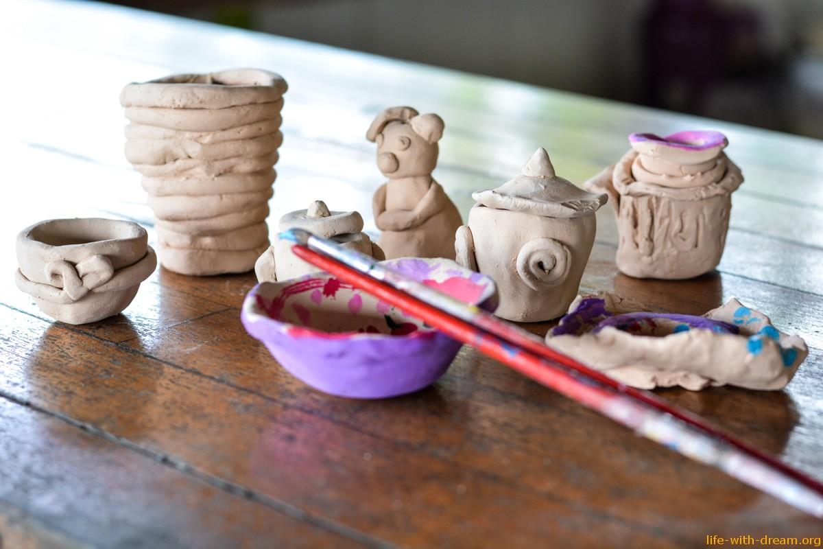 Чудесное увлечение нашей семьи – глина!