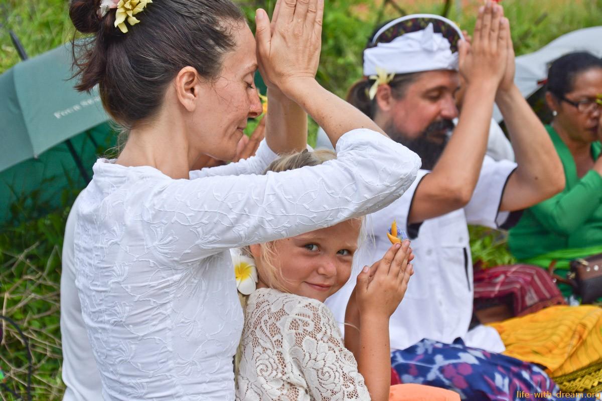 Строительство своего дома на Бали (часть 3. Церемония и подготовка)