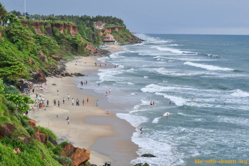 Варкала, Керала