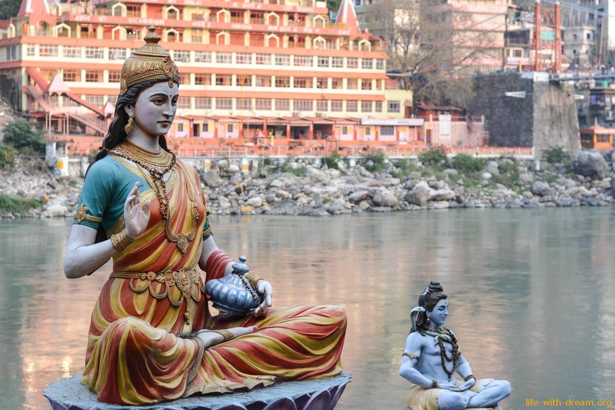 Врата в Гималаи или Ришикеш, река Ганг. Мы приехали сюда!