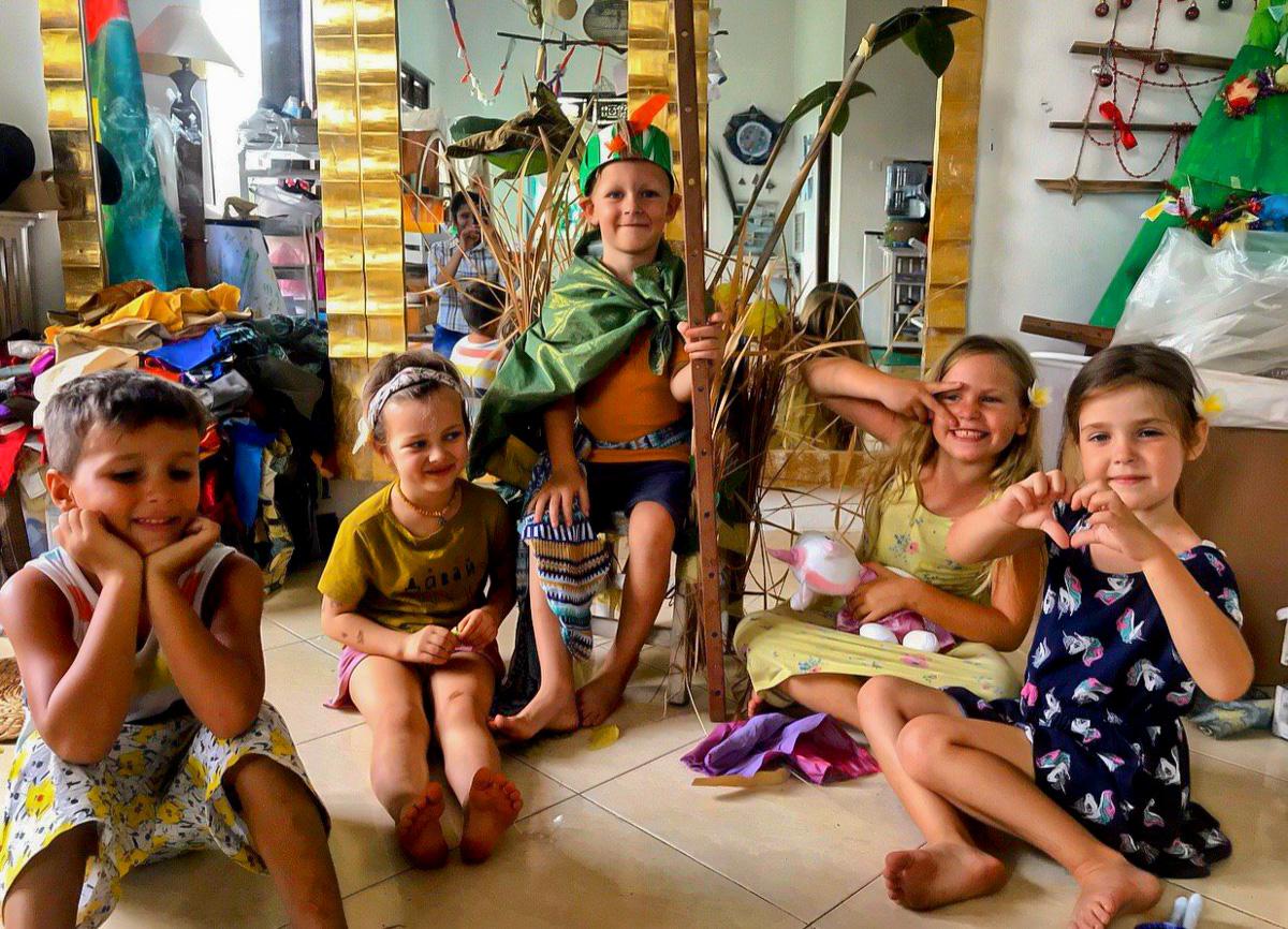 Детский сад на Бали