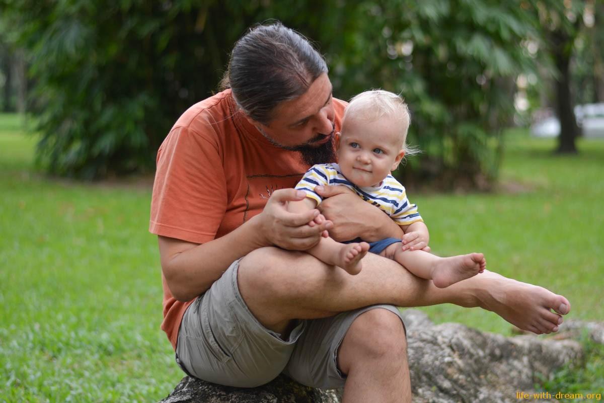 В Хошимин (или Сайгон) с детьми