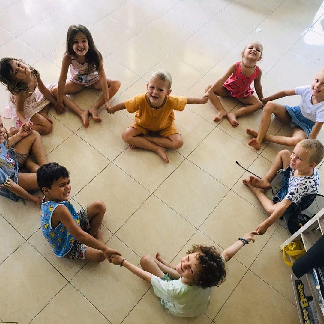 Детский сад на Бали. Интервью с Кристиной Осадченко.